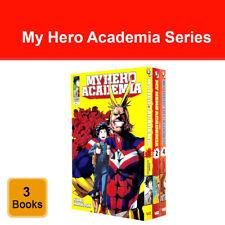 My Hero Academia Volume 1 2 4 collection 3 books set by Kohei Horikoshi Pack NEW