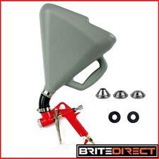 LARGEST 7.5L Hopper Spray Gun Joint Paint Wall  Plaster Texture Drywall 3 Nozzle