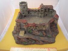 Vintage Germany Elastolin composition medieval castle toy - Rare