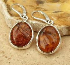 Handmade Leverback Sterling Silver Fine Earrings