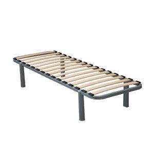 STATIC CARAVAN SINGLE BED FIXED LEGS - 6ft x 2ft CARAVAN BED FRAME BEDS SLATS