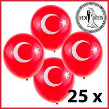 Türkiye Balon-Türkei Luftballons-Sünnet Ayet - Atatürk - Cumhuriyet-Ayyildiz