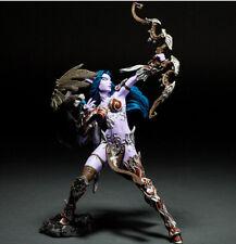 "World of Warcraft Night Elf Hunter Alathena Moonbreeze Sorna 8""Action Figure Toy"