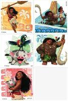 Moana Stickers - Princess Moana Party - Disney Moana Princess - Birthday Party