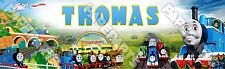 "Thomas and Friends Poster 30"" x 8.5"" Custom Name Painting Printing"