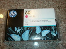 2015! HP-80 Magenta Ink cartridge (C4874A) 175 ml for Designjet 1050c,1055cm