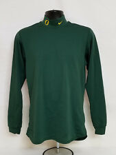 Oregon Ducks Lacrosse Team Issued Nike Long Sleeve Shirt Mock Turlteneck Men'S M