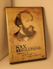 DVD SaxRevolutions: Adolphe Sax life. Film documentary. English Français Español