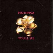 CD single MADONNA You'll see 3 Tracks card sleeve