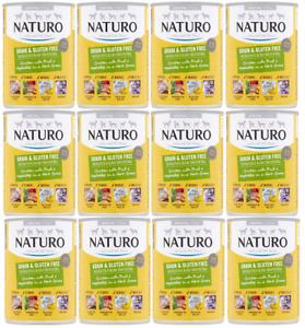 Naturo Grain & Gluten Free Chicken & Fruit & Veg In Herb Gravy 12x 390g March 23