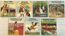 """1935 7 Platt & MUNK Books #3300 Native Americans """"MY INDIAN LIBRARY""""; Excellent"""
