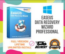 🔥 EaseUS Data Recovery Wizzard 13.6 🔥  ✅PRE-ACTIVATED✅vita licenza ✅