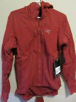 Mens New Arcteryx Proton FL Hoody Jacket Size Small Color Infrared