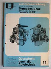 Auto-Reparaturanleitung Mercedes 180D / 190D - OM Motoren 621/636, Bucheli 73