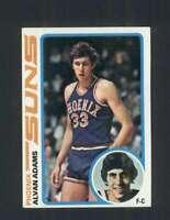 1978-79 Topps #77 Alvan Adams NM/NM+ Suns 120401