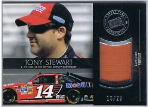 TONY STEWART - REDLINE RELICS - RACE USED - 19/25 - ONLY 25 MADE - 3 X CHAMP