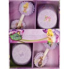 Party Decorations Birthday Girls  Fairies Cupcake Decorating Kit Tinkerbell