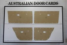 Chrysler Valiant VE VF VG Door Cards Sedan, Wagon. Blank Trim Panels