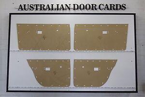 Chrysler Valiant VE VF VG Door Cards Sedan, Wagon. Blank Trim Panels