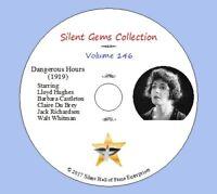 "DVD ""Dangerous Hours"" (1919) Lloyd Hughes, Barbara Castleton, Classic Drama"