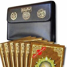 Color Coded Tajweed Quran 30 Parts Divided Set with Leather Case Mosque X Large