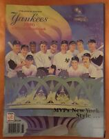 1986 NEW YORK YANKEES MVPs YEARBOOK MATTINGLY RUTH MANTLE MARIS MUNSON