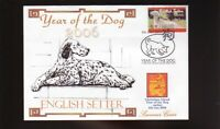 ENGLISH SETTER YEAR OF THE DOG STAMP SOUV COVER 2