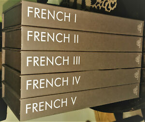 French Language 80 Audio CD Course Level 1-5 from Pimsleur