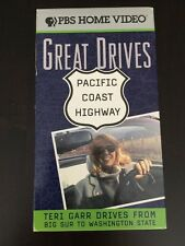 GREAT DRIVES PACIFIC COAST HIGHWAY PBS TERI GARR (VHS, 1996)