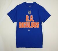 New York Mets R. A. Dickey MLB Baseball Majestic T Shirt Size SMALL S