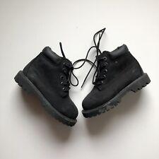 Timberland Baby Toddler Black Primaloft 200 Gram Leather Boots