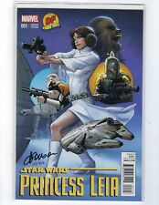 Star Wars Princess Leia # 1 Dynamic Forces Variant Cover NM/MT Marvel