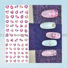 US Seller- accessories for nails large sheet diamond water transfer nail decal