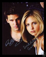 BUFFY THE VAMPIRE SLAYER CAST AUTOGRAPHED SIGNED AND FRAMED PP PHOTO POSTER