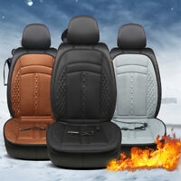 Universal Heated Car Seat Cushion Cover 12V Heating Heater Warmer Pad Winter MA