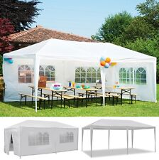 10'x20'6 Walls Outdoor Canopy Party Wedding Tent Heavy duty Gazebo garden BBQ