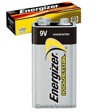 5x ENERGIZER INDUSTRIAL Alkaline EN22  9V E-Block 6LR61