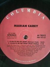 "Mariah Carey-Always Be My Baby 12"" Vinly Dance Rare Pop Hit"