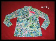 NWT Lilly Pulitzer UPF 50+ Skipper Popover Multi Lilly's House M RARE