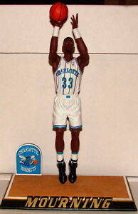 ALONZO MOURNING Charlotte Hornets NBA Sports Impressions 1994 Porcelain Figurine