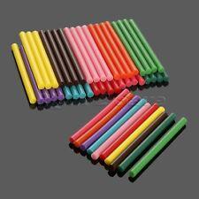 50pcs 7mm*100mm Hot Melt Glue Gun Sticks Eva Glitter Powder 10 Colour DIY Crafts