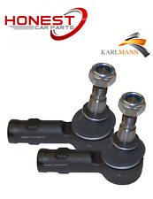 For SAAB 9-5 1997-2005 OUTER TIE TRACK ROD ENDS L/R X2 By Karlmann Quality New