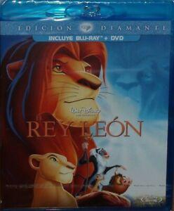 EL REY LEON EDICION DIAMANTE COMBO BLU-RAY+DVD DISNEY NUEVO
