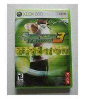 Smash Court Tennis 3 XBOX 360 2008 US English Factory Sealed