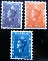 SUR NVPH 187 - 189 Jubileumzegels prachtig postfris Cataloguswaarde € 14.00
