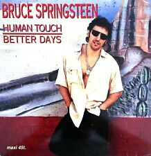 FRENCH VINYLE SPECIALE MAXI 12'' BRUCE SPRINGSTEEN HUMAN TOUCH / BETTER DAYS