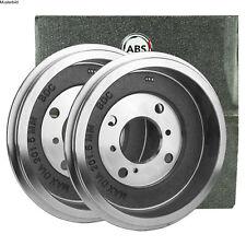 2x A.B.S. BREMSTROMMELN SET HINTEN VW PASSAT 1.6 1.9 1.8 TD D TDI