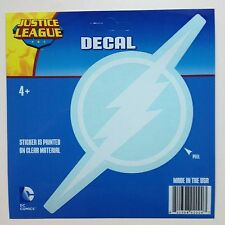 DC Justice League The Flash White logo Car Window Sticker Decal 7""