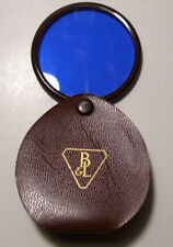 Vintage Bausch & Lomb Folding Lens/Filter With Leather Flip Case
