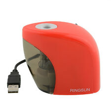 Automatic Red Electric Battery Touch Pencil Sharpener For Office Students